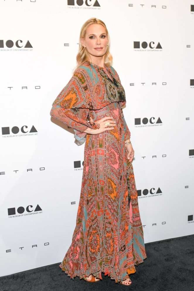 Molly Sims - 10th MOCA Distinguished Women in the Arts luncheon in LA