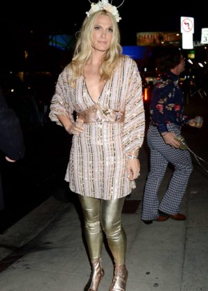 Molly Sims - 2017 Tequila Casamigos Annual Halloween Bash in LA