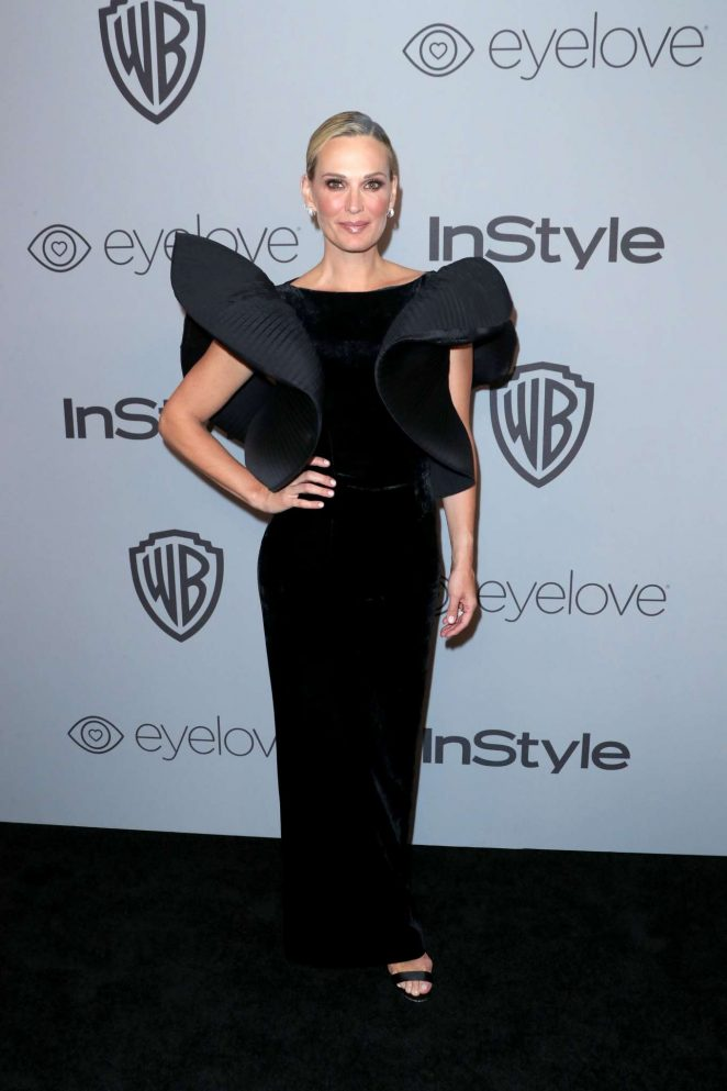 Molly Sims - 2018 InStyle and Warner Bros Golden Globes After Party in LA