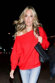 Molly Sims at Craig's in West Hollywood