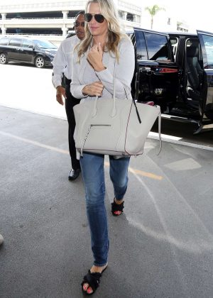 Molly Sims at LAX Airport in LA