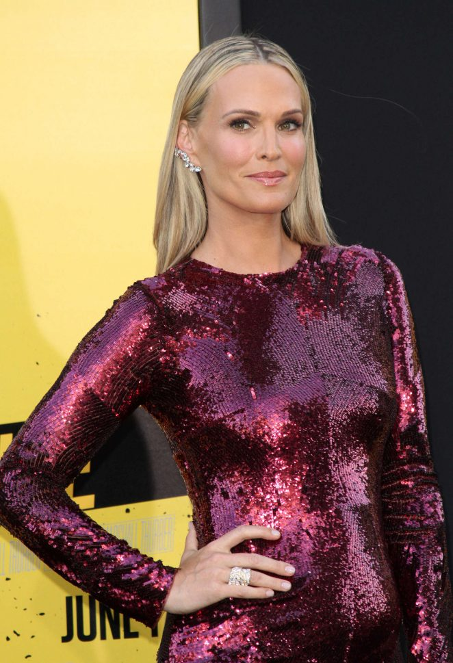 Molly Sims – 'Central Intelligence' Premiere in Los Angeles