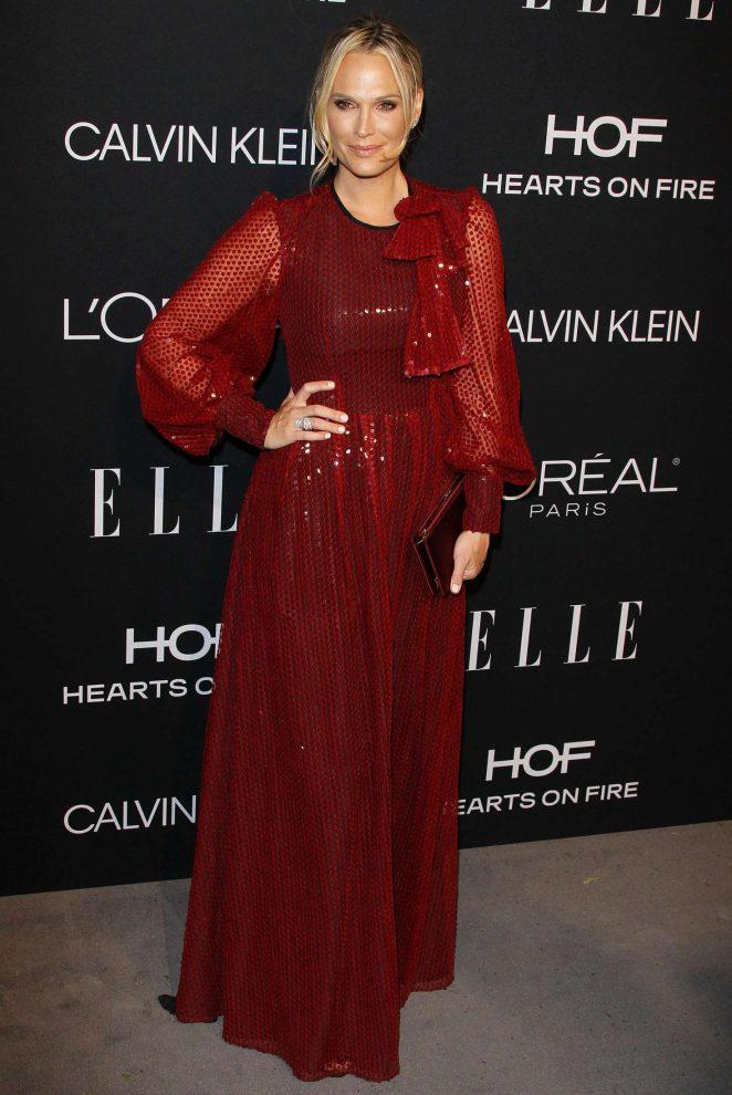 Molly Sims - ELLE's 25th Women in Hollywood Celebration in LA