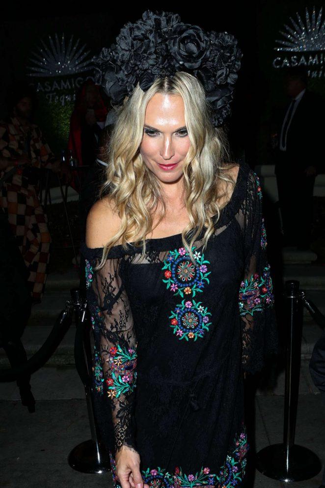 Molly Sims - Leaving Casamigos Halloween Party in Los Angeles