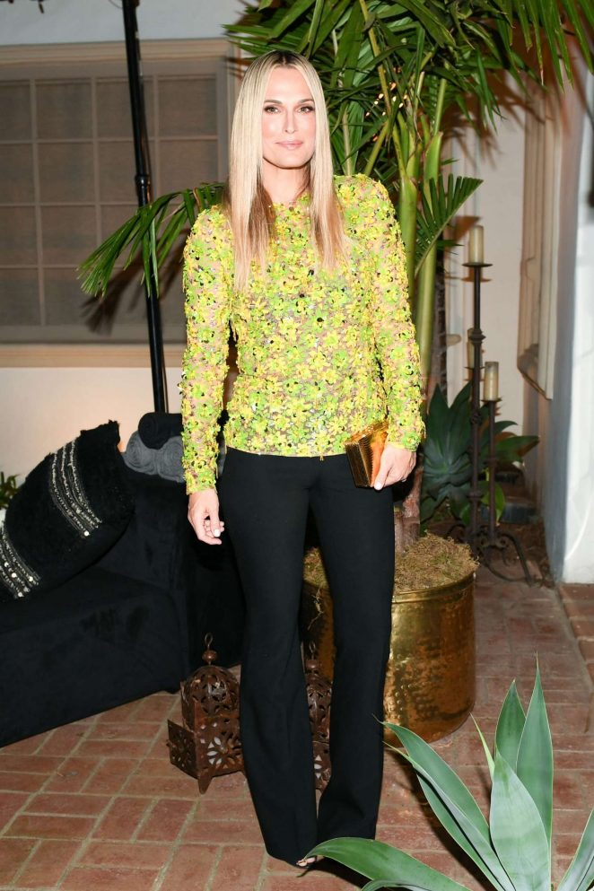Molly Sims – Michael Kors x Kate Hudson Dinner in Los Angeles