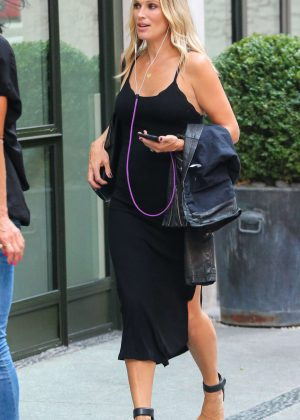 Molly Sims out and about in New York City