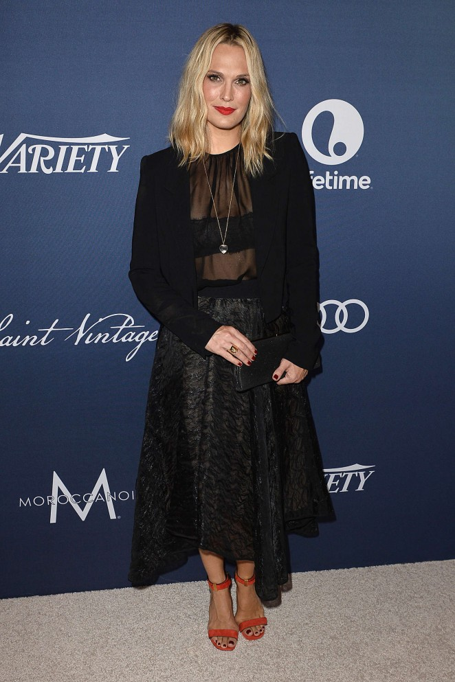 Molly Sims - Variety 2015 Power Of Women Luncheon in Beverly Hills