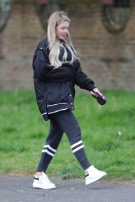 Molly Smith - Spotted close to her Manchester Home