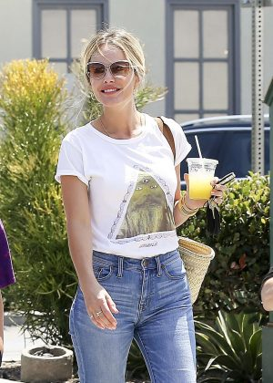 Monet Mazur in Jeans - Out in Los Angeles