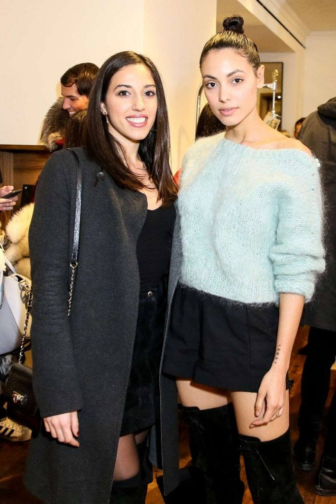 Monic Perez - Vogue x Rag Bone Celebrate the Holidays in New York