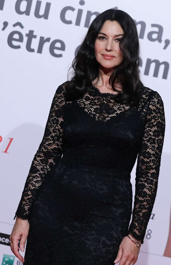 Monica Bellucci – 10th Lumiere Festival Opening in Lyon