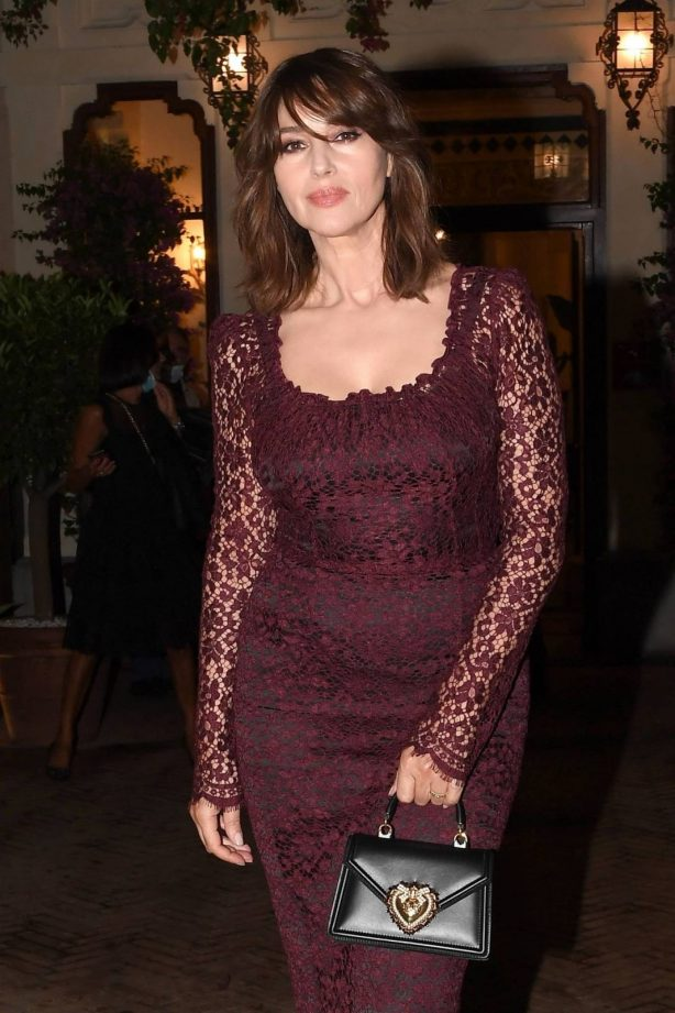 Monica Bellucci - 2020 Taormina Film Fest Evening in Honor of Dolce and Gabbana
