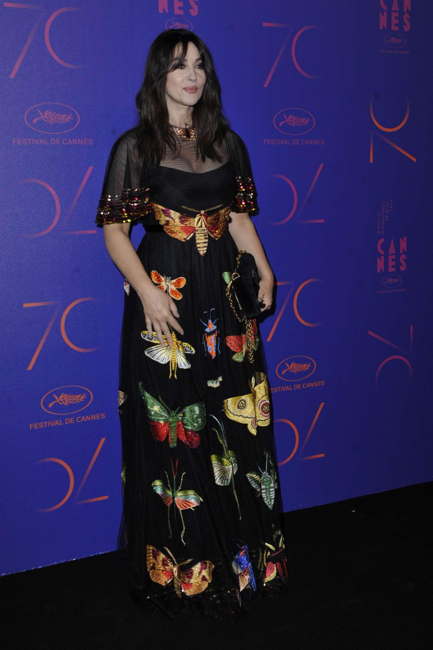 Monica Bellucci 2017 : Monica Bellucci: 70th Anniversary Dinner at 2017 Cannes Film Festival -01