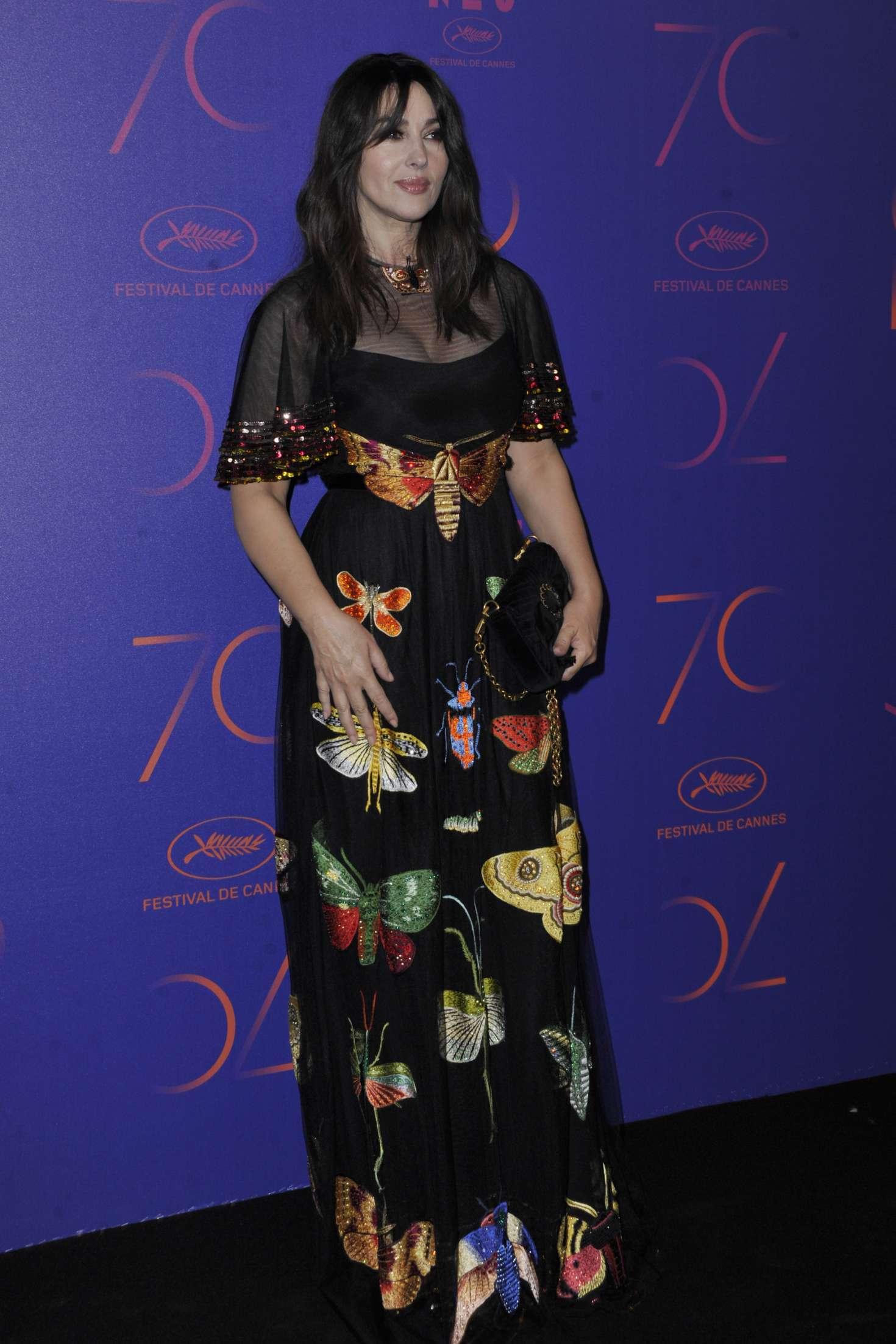 Monica Bellucci 2017 : Monica Bellucci: 70th Anniversary Dinner at 2017 Cannes Film Festival -02