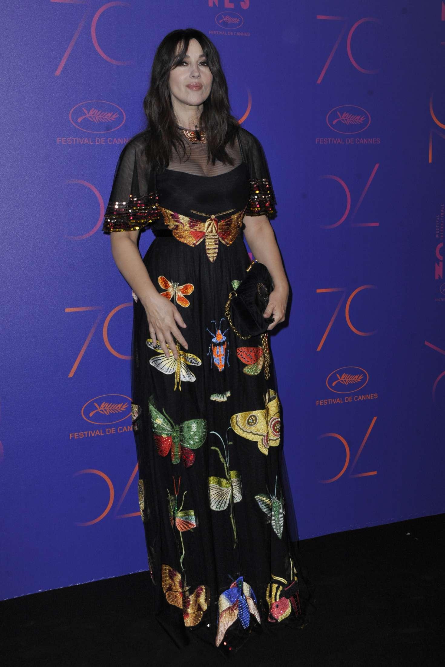 Monica Bellucci - 70th Anniversary Dinner at 2017 Cannes Film Festival