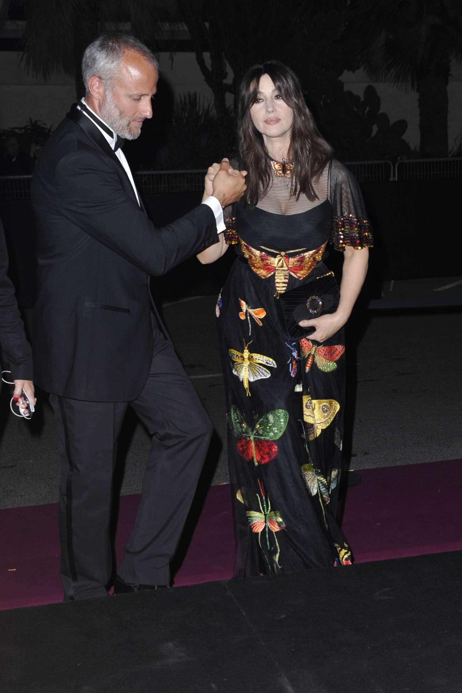 Monica Bellucci 2017 : Monica Bellucci: 70th Anniversary Dinner at 2017 Cannes Film Festival -04