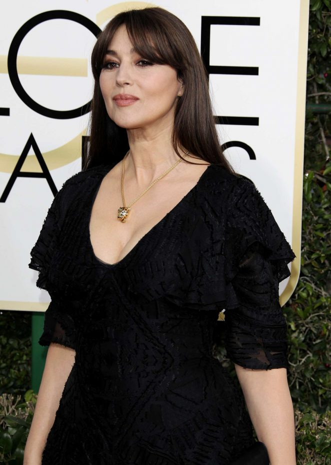 Monica Bellucci – 74th Annual Golden Globe Awards in Beverly Hills