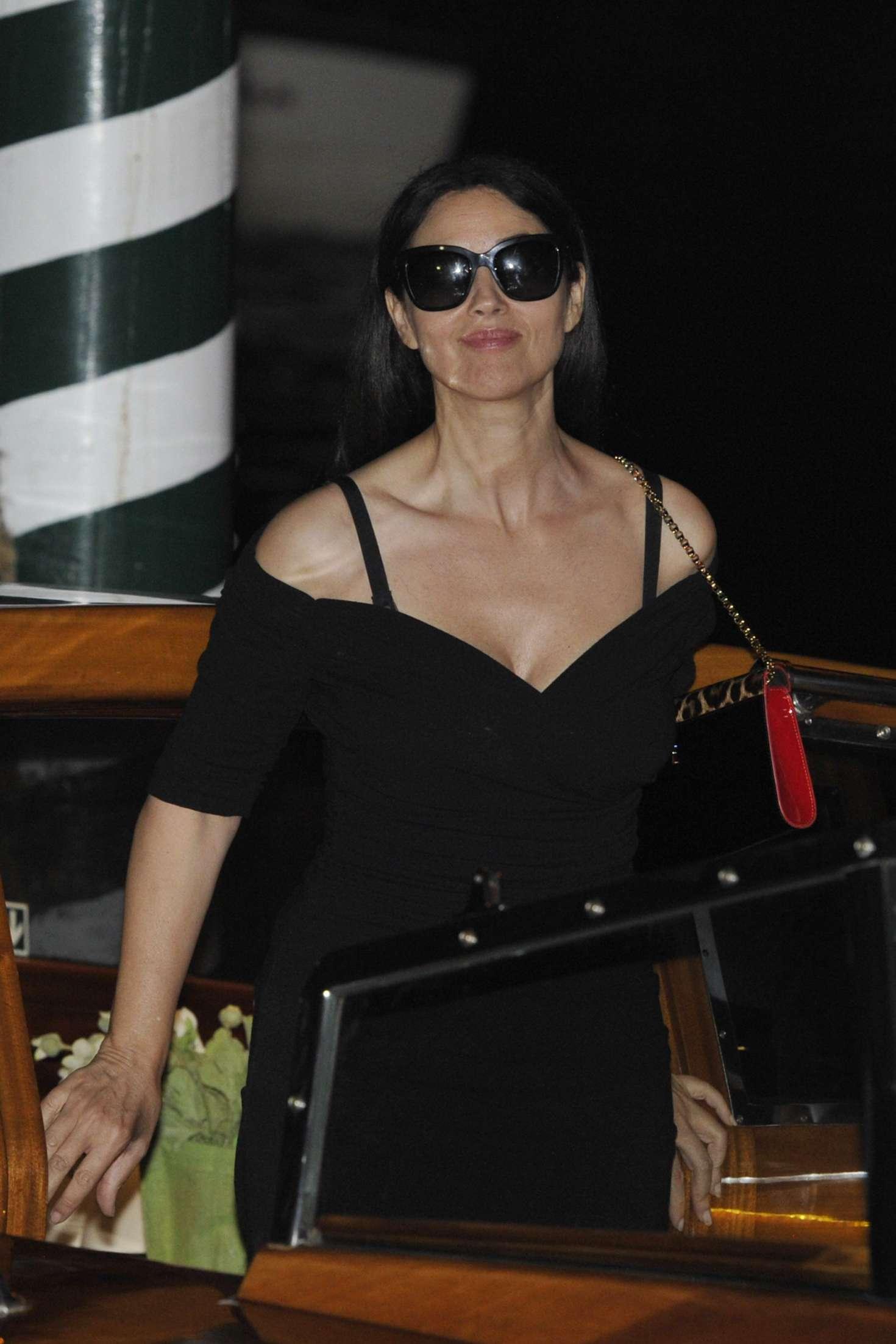 Monica Bellucci - Arrives in Venice for the 73rd Venice Film Festival
