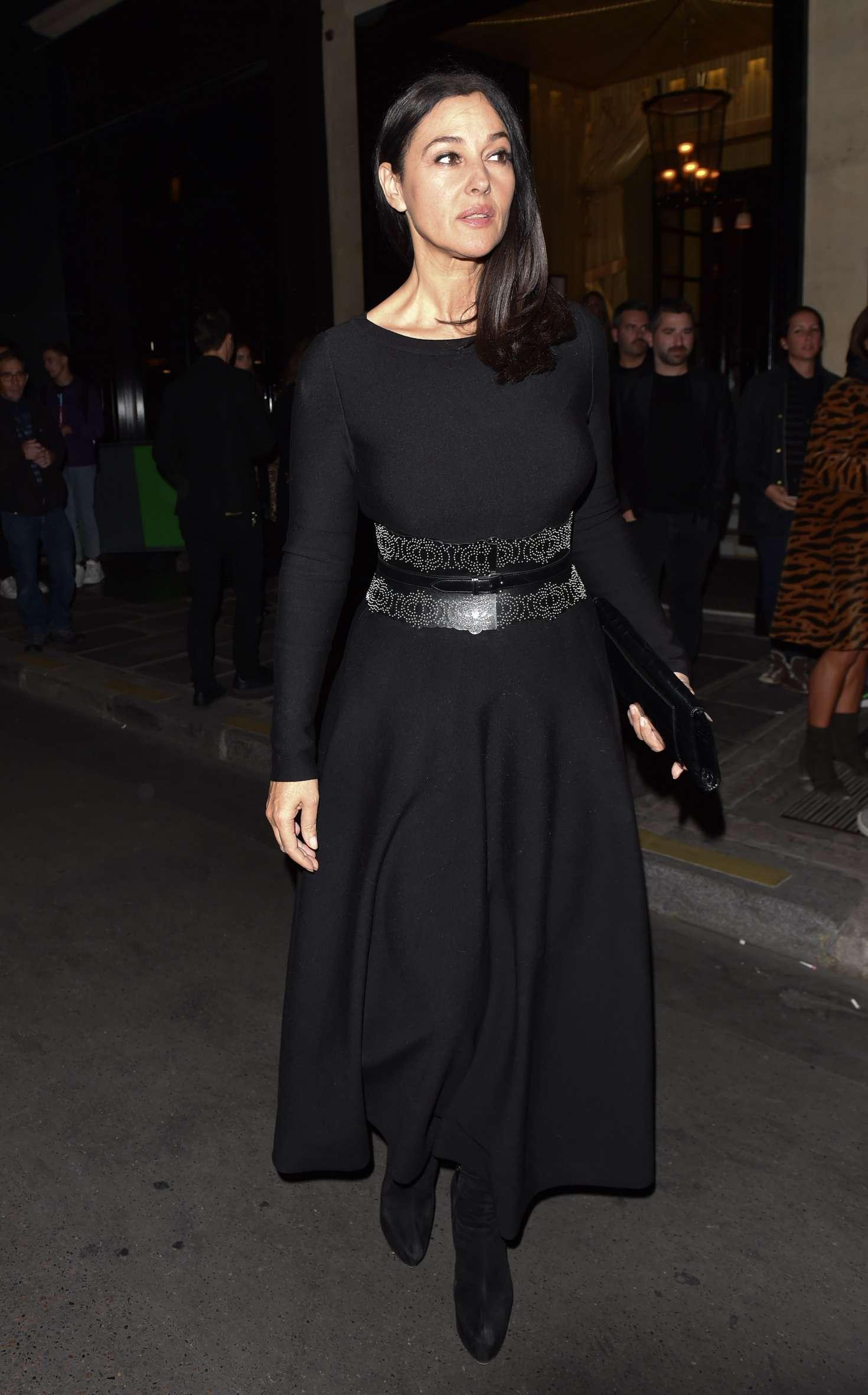 Monica Bellucci 2018 : Monica Bellucci at the Costes hotel -10