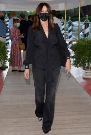 Monica Bellucci - Attending the Dolce and Gabbana Event in Venice