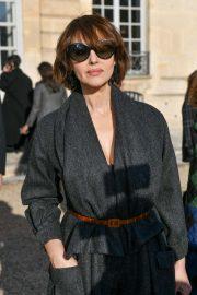 Monica Bellucci - Attends the Dior Haute Couture SS 2020 Show in Paris