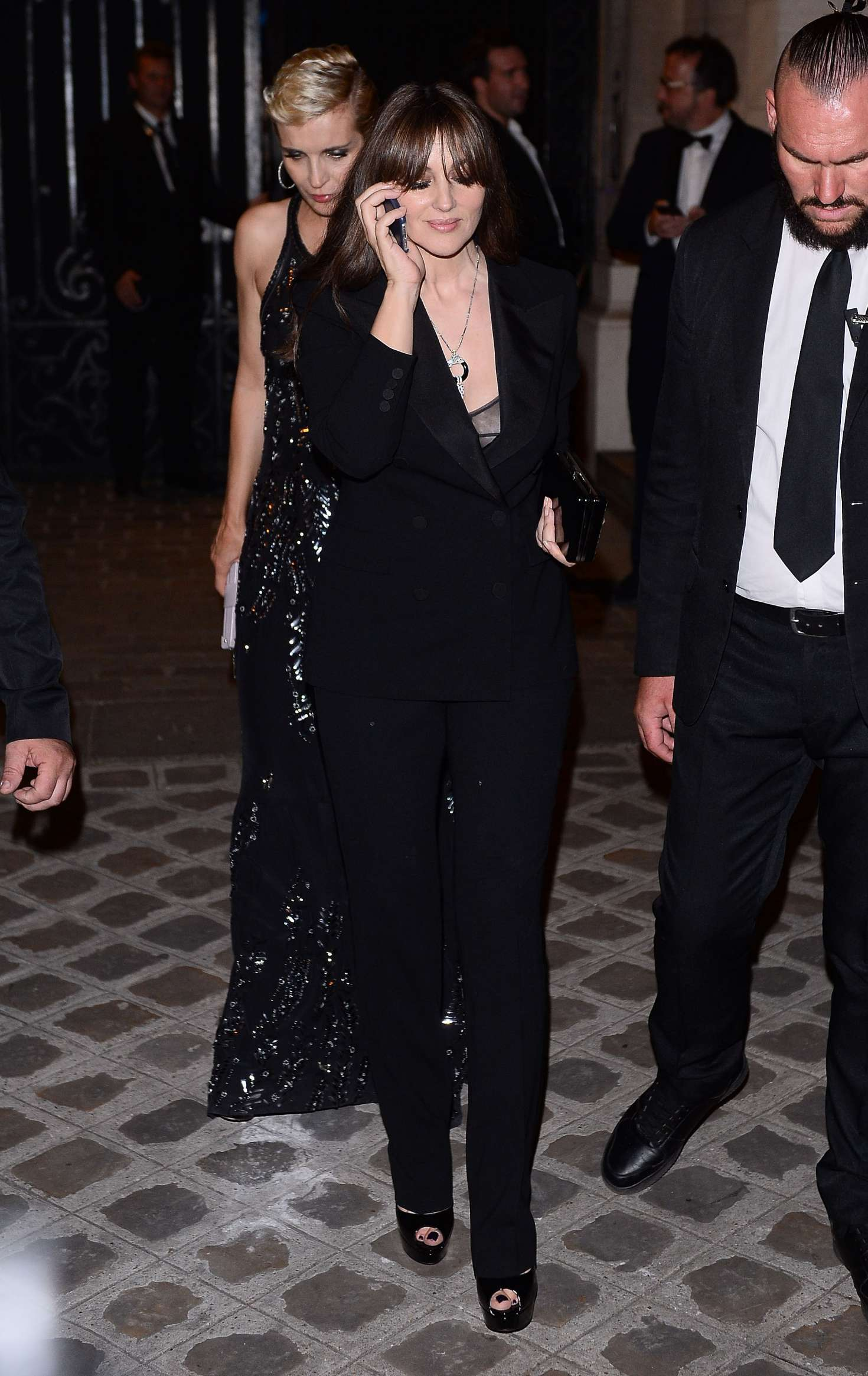 Monica Bellucci - Attends the Vogue Party 2017 in Paris