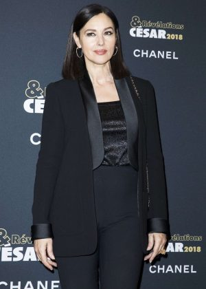Monica Bellucci - Cesar Revelations 2018 at Le Petit Palais in Paris