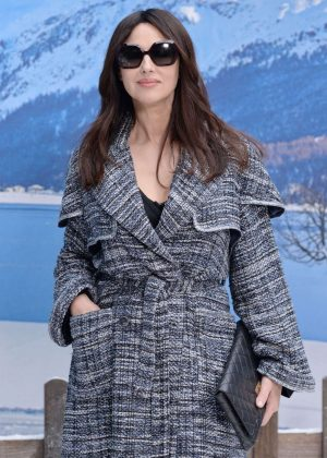 Monica Bellucci - Chanel Fashion Show in Paris