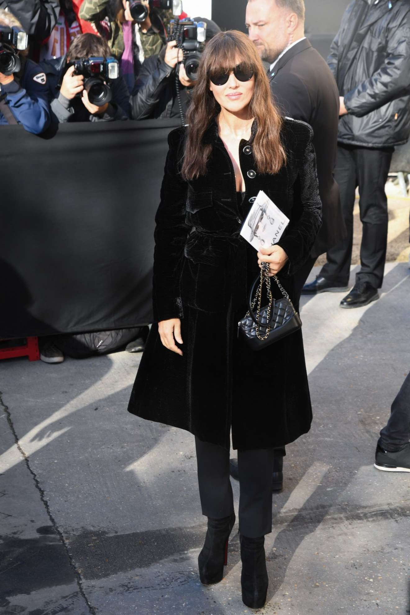 Monica Bellucci 2017 : Monica Bellucci – Chanel Fashion Show, Paris Fashion Week in Paris-03