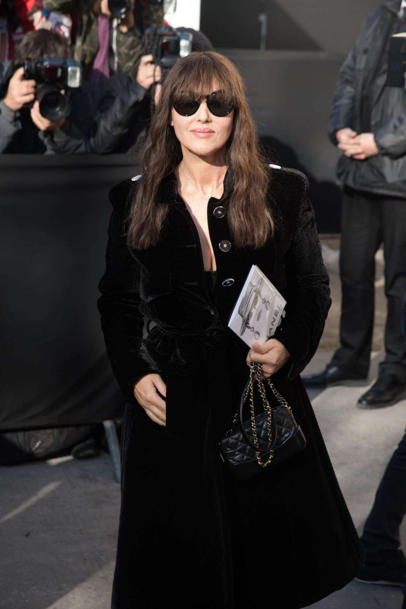 Monica Bellucci 2017 : Monica Bellucci – Chanel Fashion Show, Paris Fashion Week in Paris-04