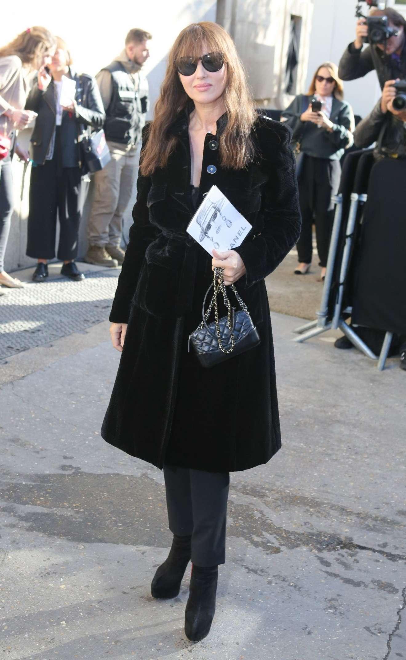 Monica Bellucci 2017 : Monica Bellucci – Chanel Fashion Show, Paris Fashion Week in Paris-05