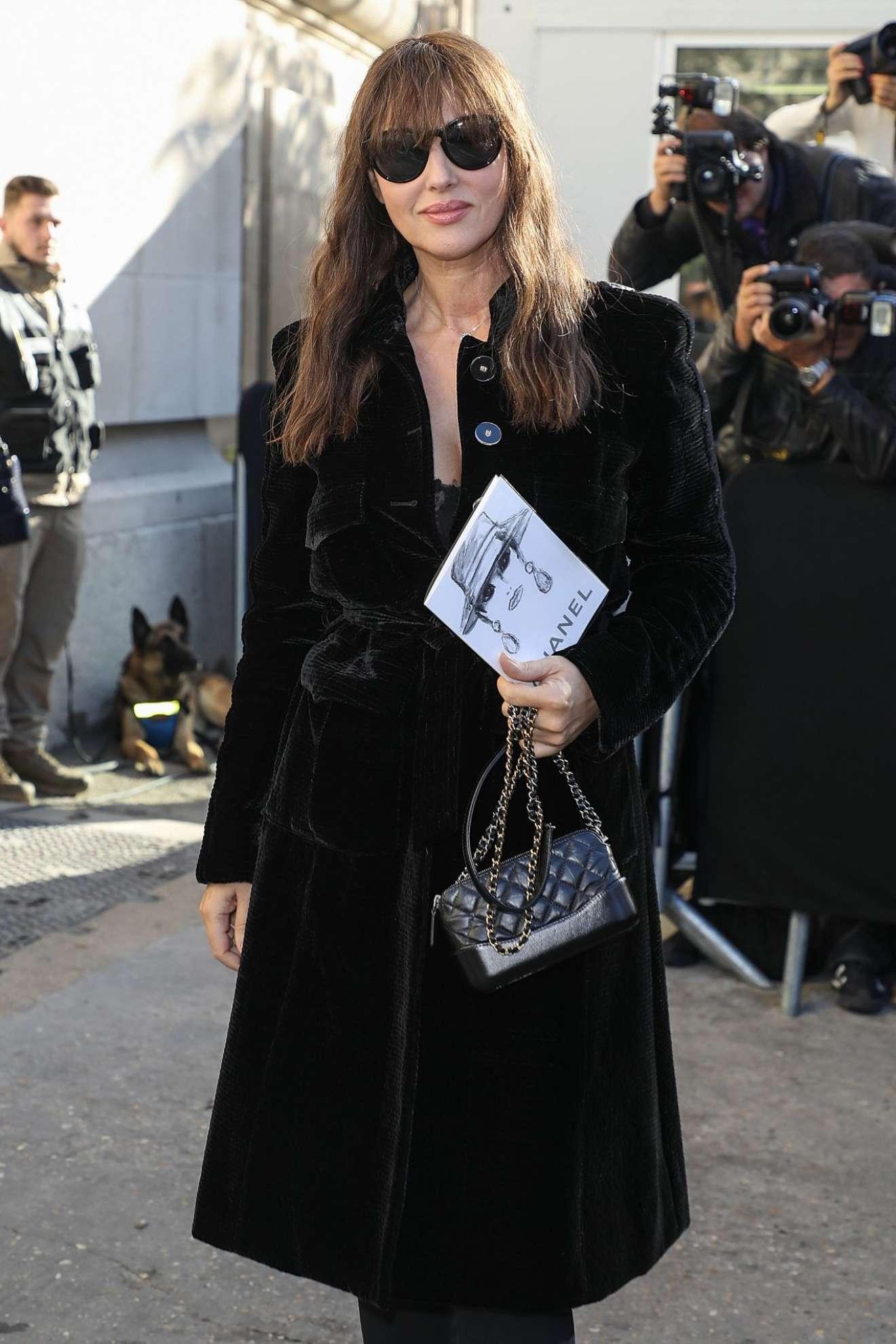 Monica Bellucci 2017 : Monica Bellucci – Chanel Fashion Show, Paris Fashion Week in Paris-07