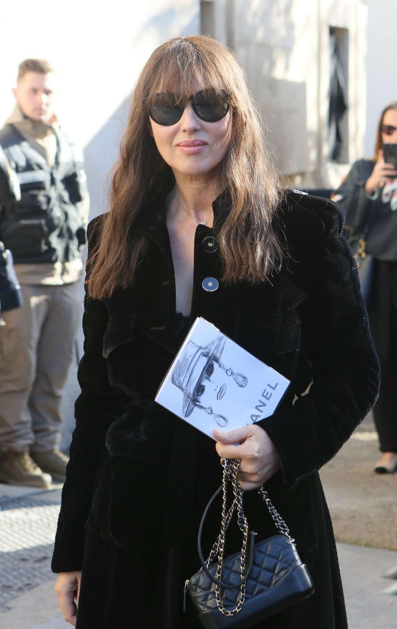 Monica Bellucci 2017 : Monica Bellucci – Chanel Fashion Show, Paris Fashion Week in Paris-08