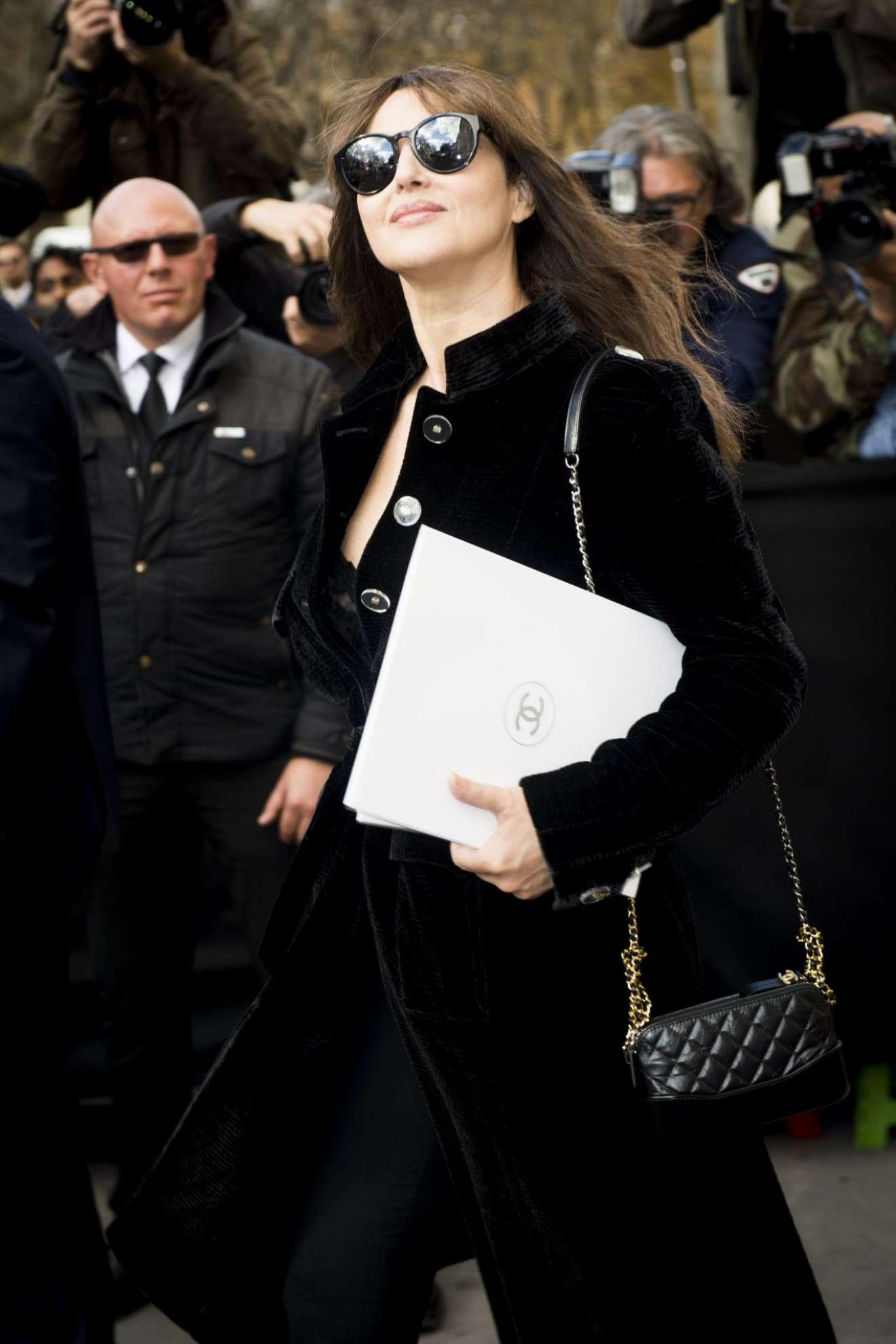 Monica Bellucci 2017 : Monica Bellucci – Chanel Fashion Show, Paris Fashion Week in Paris-10