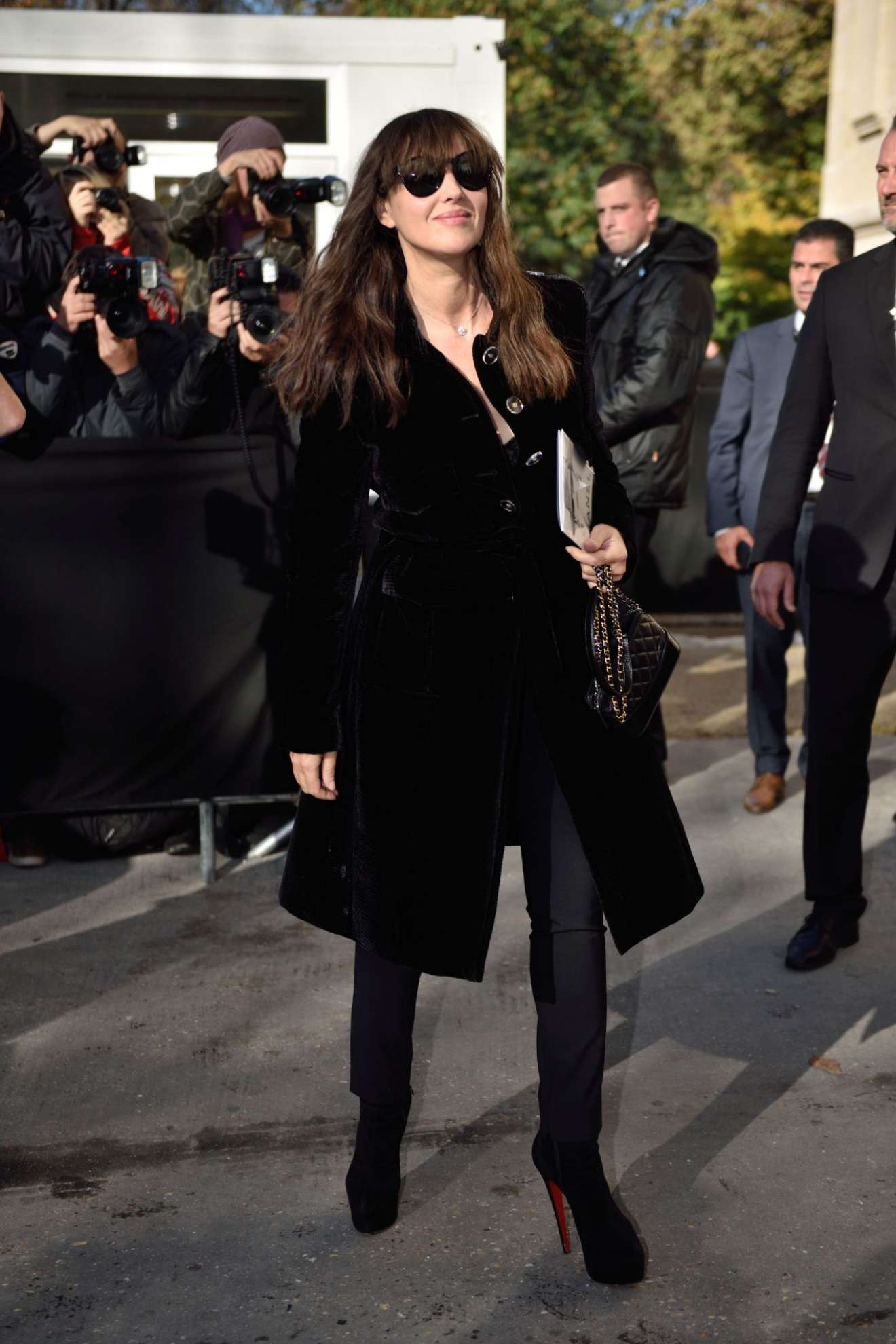 Monica Bellucci 2017 : Monica Bellucci – Chanel Fashion Show, Paris Fashion Week in Paris-11