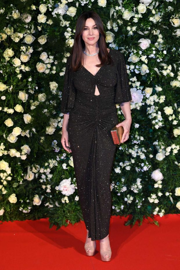 Monica Bellucci Charles Finch Filmmakers Dinner At 2019