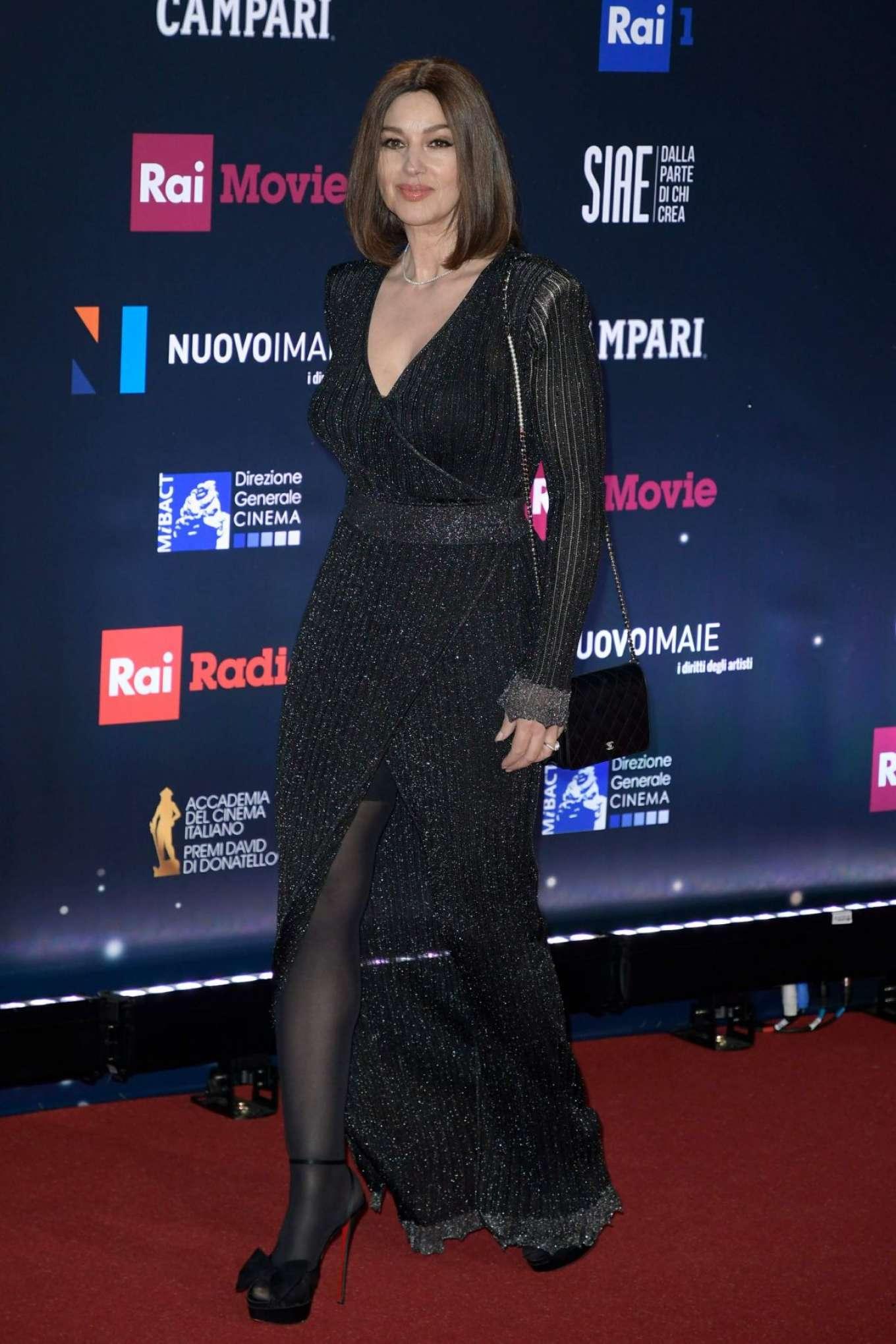 Monica Bellucci 2018 : Monica Bellucci: David Di Donatello Award Ceremony 2018 -01