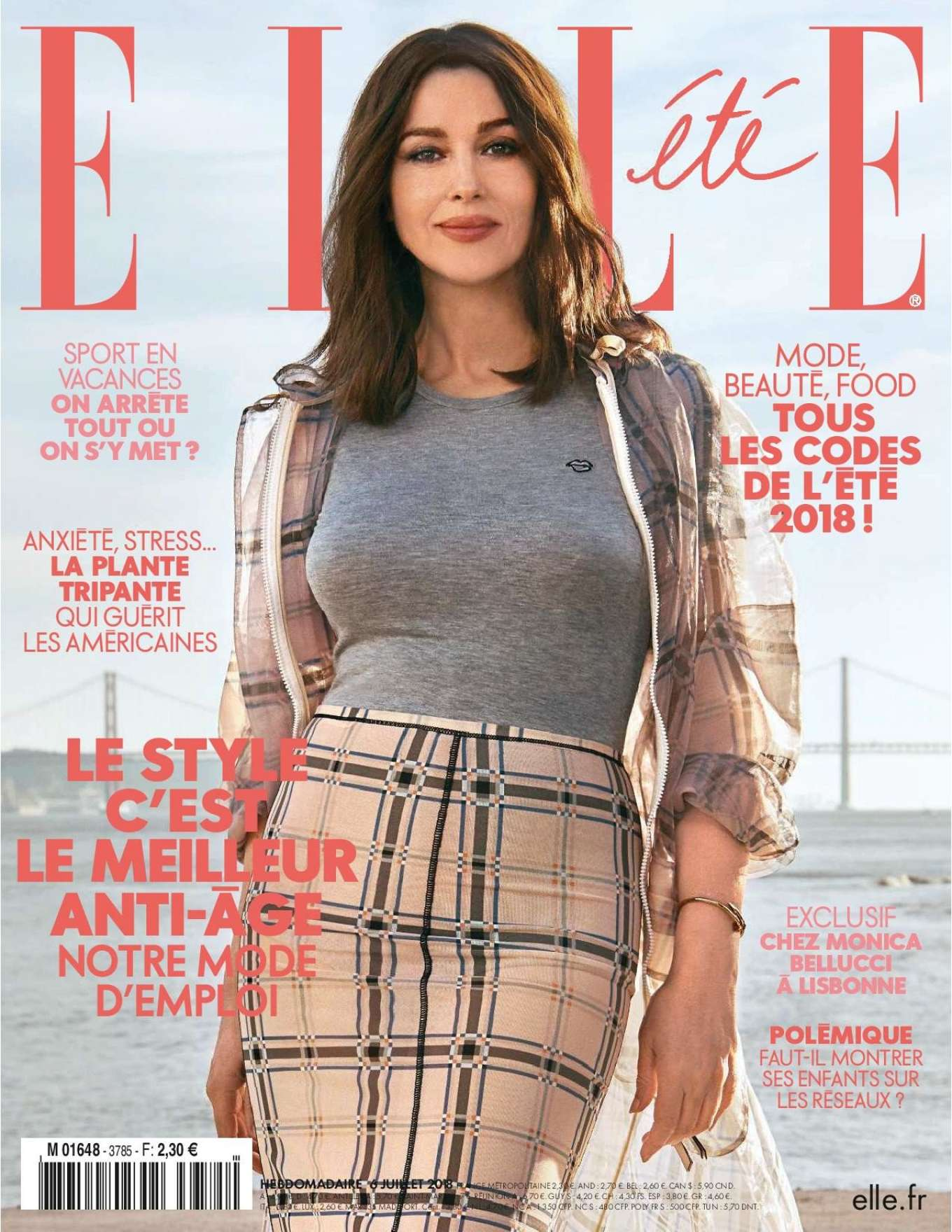 Monica Bellucci 2018 : Monica Bellucci: Elle France 2018 -18