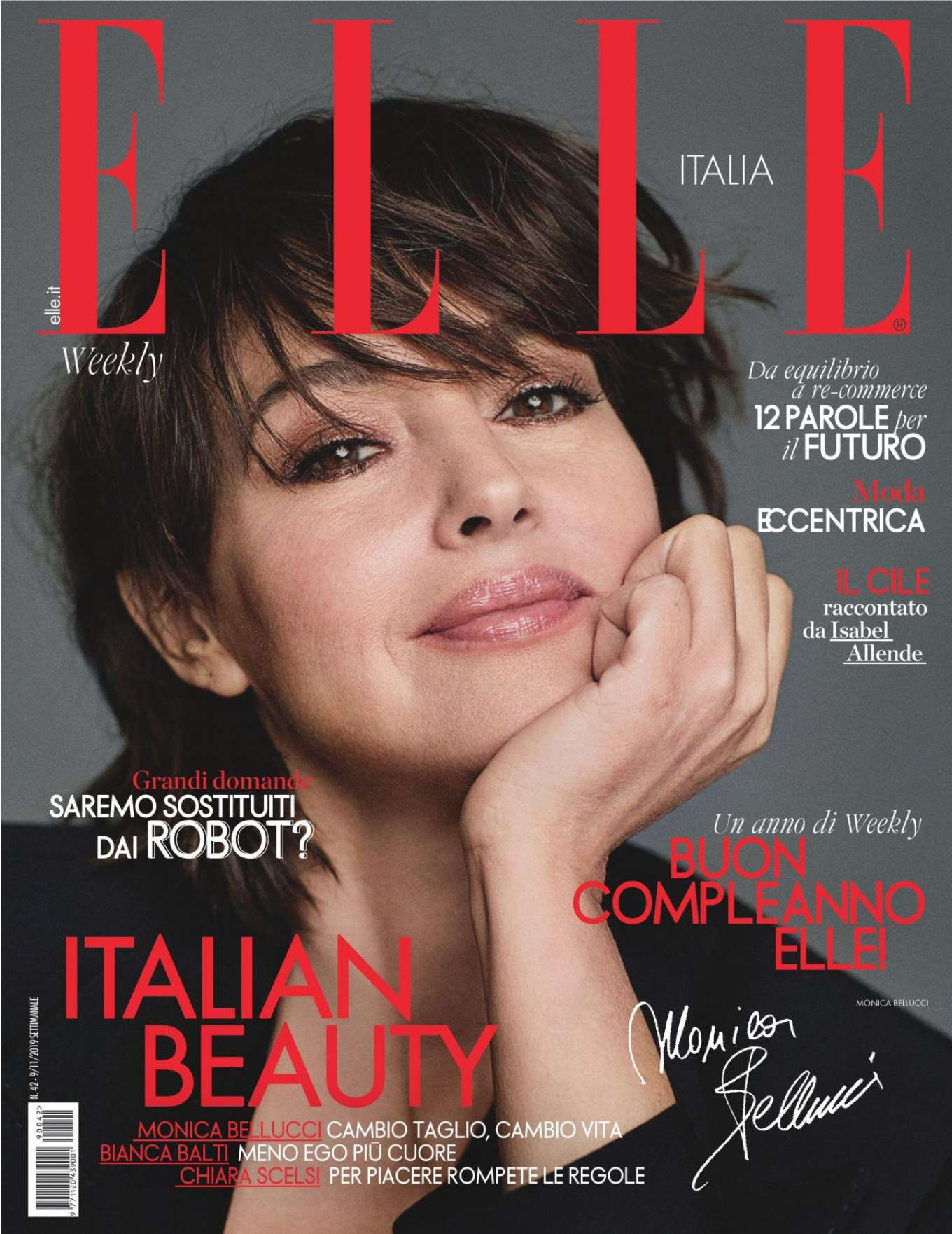 Monica Bellucci – ELLE Magazine (Italy - November 2019)