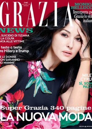 Monica Bellucci - Grazia Italy Magazine (September 2016)