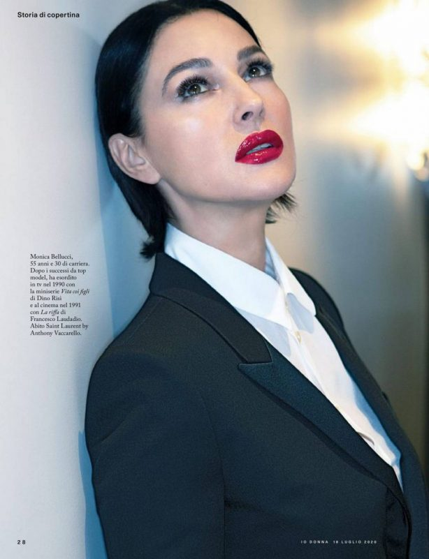 Monica Bellucci - Io Donna Magazin (Italy - July 2020)