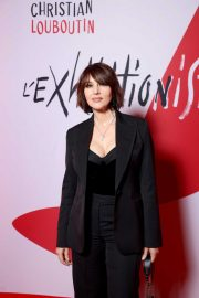 Monica Bellucci - L'Exibition by Christian Louboutin opening in Paris