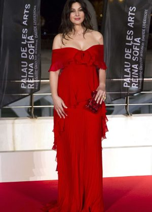Monica Bellucci - 'La Traviata' opera opening night in Valencia