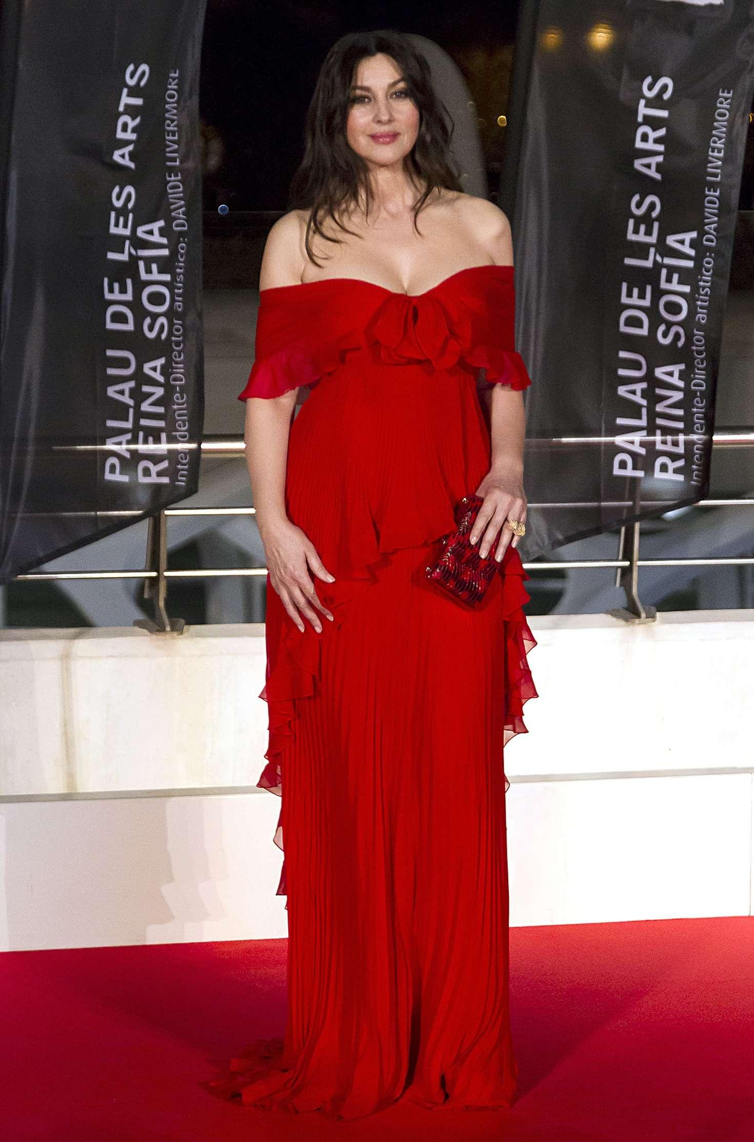 Monica Bellucci – 'La Traviata' opera opening night in Valencia