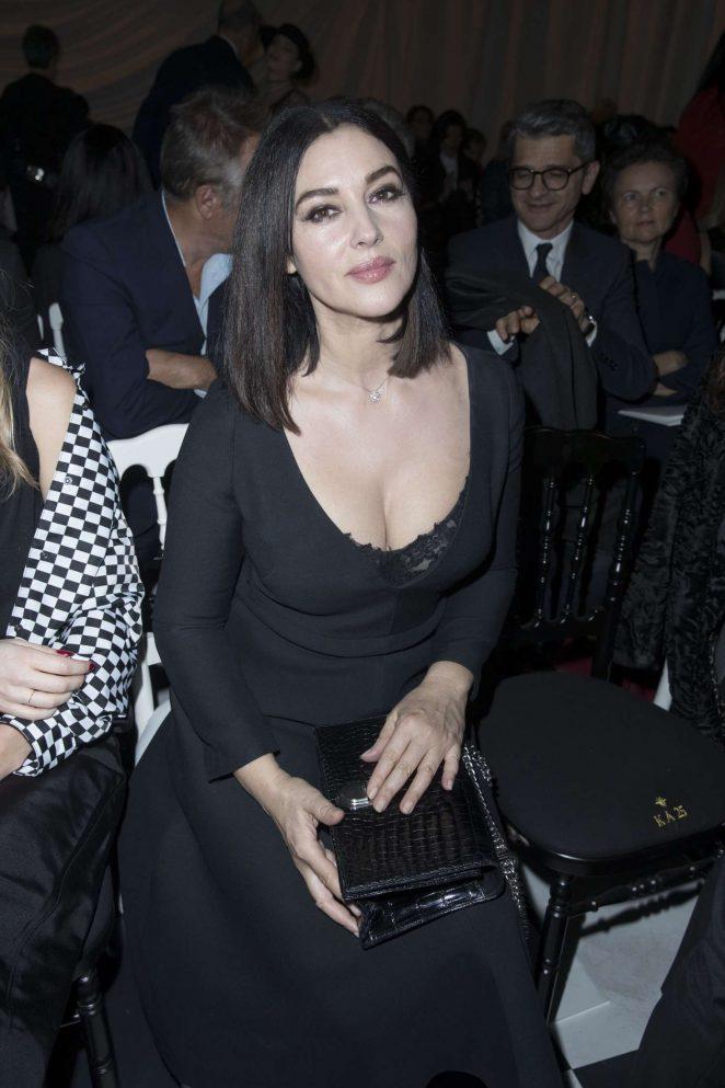 Monica Bellucci - Le Bal Surrealiste Dior at Haute Couture SS 2018 Show in Paris