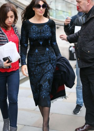 Monica Bellucci -Lleaving her hotel in London