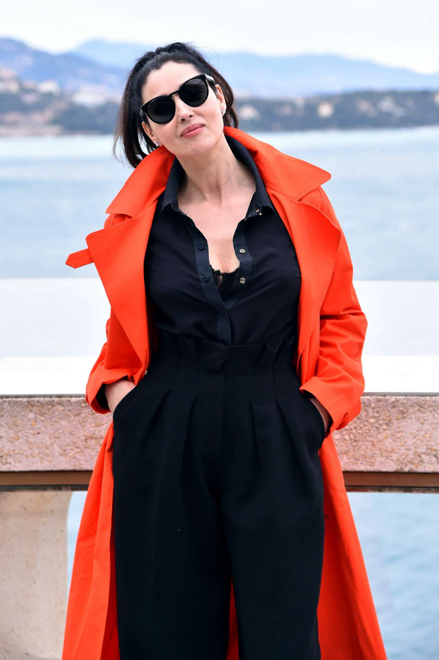 Monica Bellucci 2017 : Monica Bellucci: Monte-Carlo Comedy Film Festival Photocall -04