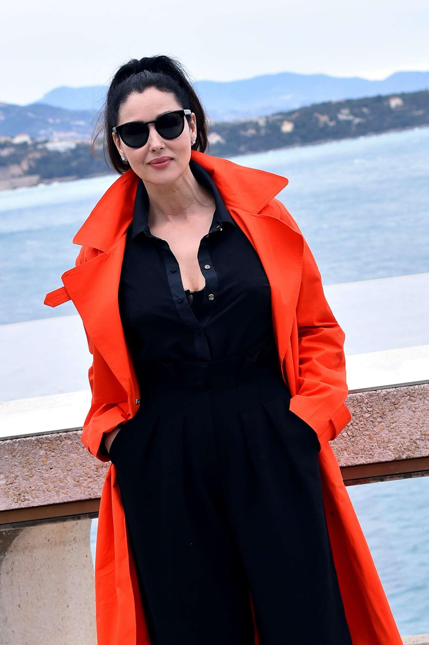 Monica Bellucci 2017 : Monica Bellucci: Monte-Carlo Comedy Film Festival Photocall -11