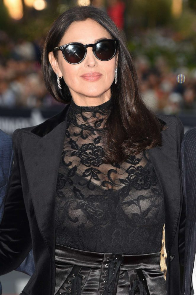 Monica Bellucci Old Boys Closing Ceremony At 2018 Dinard