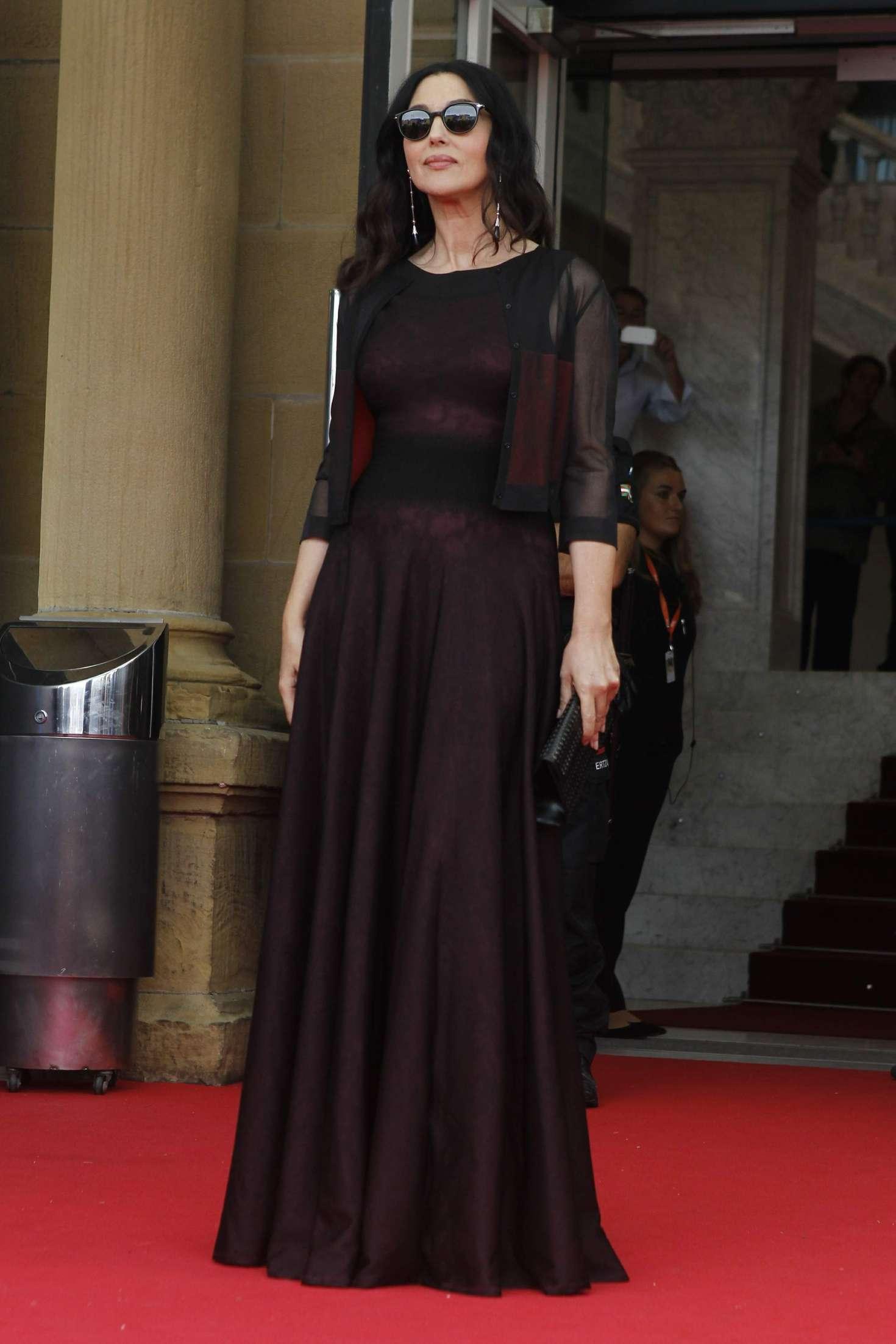 Monica Bellucci - ''On The Milky Road' Premiere at 2016 San Sebastian Film Festival in San Sebastian